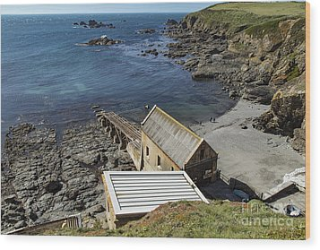 Wood Print featuring the photograph Old Lifeboat Station by Brian Roscorla