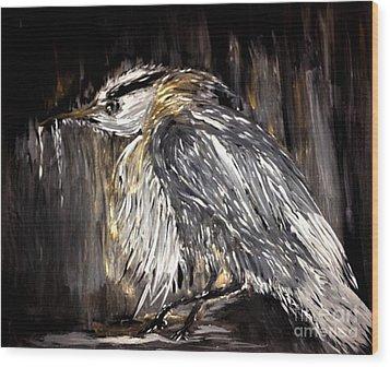 Old Man Bird Wood Print
