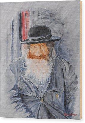 Old Man Of Jerusalem Wood Print by Quwatha Valentine