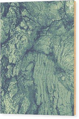 Old Man Tree Wood Print
