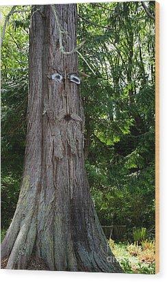 Old Man Tree Wood Print by Robert Nankervis