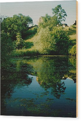 Wood Print featuring the photograph Old Pond by Kathleen Stephens