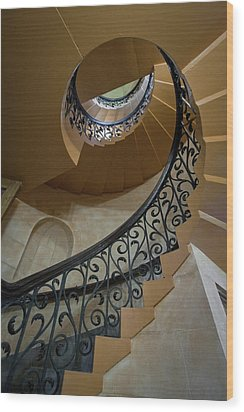 Wood Print featuring the photograph Old Stairway by Robert Harshman