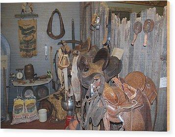 Old Stuff Wood Print by Sergey  Nassyrov