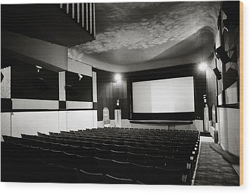 Old Theatre 3 Wood Print by Marilyn Hunt
