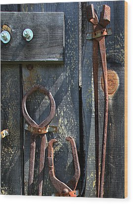 Wood Print featuring the photograph Old Tools by Joanne Coyle
