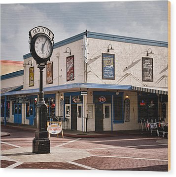 Old Town - Kissimmee - Florida Wood Print