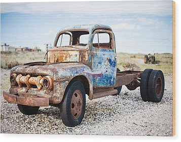 Wood Print featuring the photograph Old Truck by Silvia Bruno