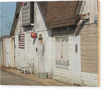 Wood Print featuring the photograph Old Welding Shop by Scott Kingery