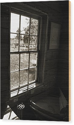 Wood Print featuring the photograph Old Window by Joanne Coyle