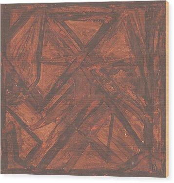 Oldbarn Wood Print by Ana Aguiar