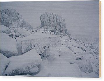 Oldest Mountains Wood Print by Anton Troshkov