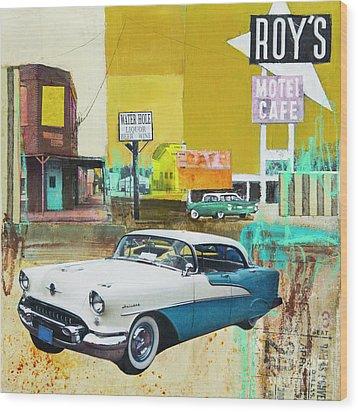 Oldsmobile Wood Print
