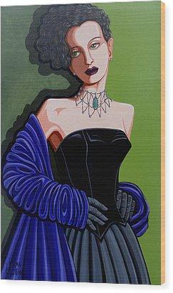 Olivia Wood Print