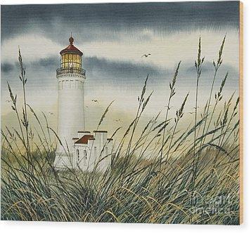 Olympic Coast Sentinel Wood Print by James Williamson