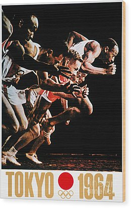 Olympic Games, 1964 Wood Print by Granger