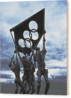 Olympic Wood Print