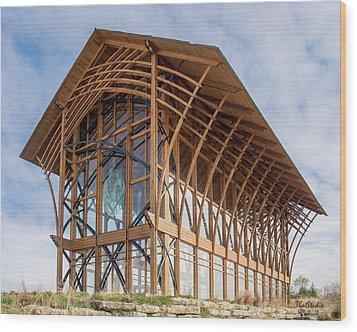 Omaha Holy Family Shrine 3 Wood Print