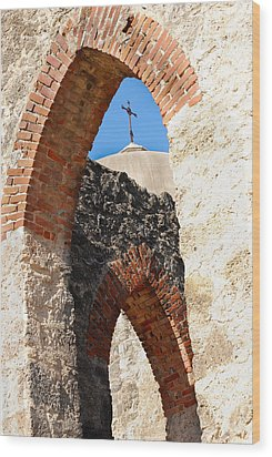 Wood Print featuring the photograph On A Mission by Debbie Karnes