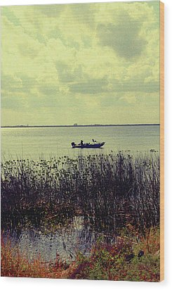 On A Sunny Sunday Afternoon Wood Print by Susanne Van Hulst