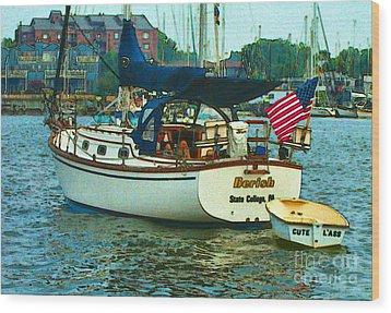 On Chesapeake Bay Wood Print