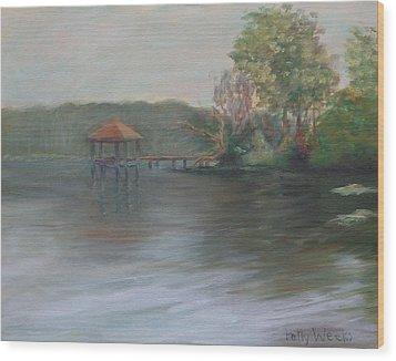 On Julington Creek Wood Print