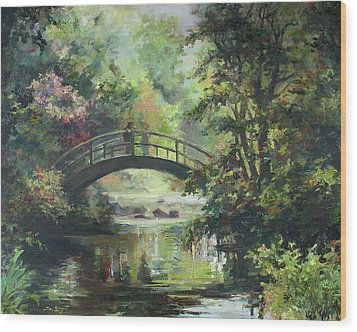 On The Bridge Wood Print by Tigran Ghulyan