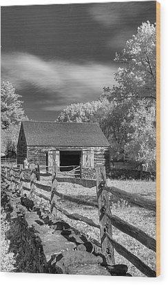 On The Farm Wood Print by Joann Vitali