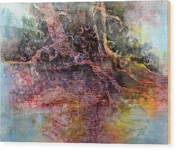 On The Peninsula Wood Print by Carolyn Rosenberger