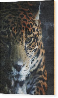 On The Prowl Wood Print by Trish Tritz