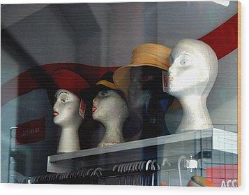 On The Shelf Wood Print by Jez C Self