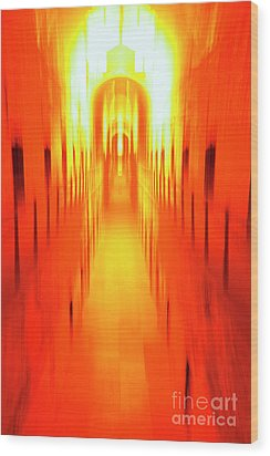 Wood Print featuring the photograph On The Way To Death Row by Paul W Faust - Impressions of Light