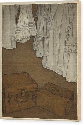 Once Wood Print