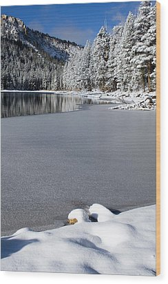 One Cool Morning Wood Print by Chris Brannen