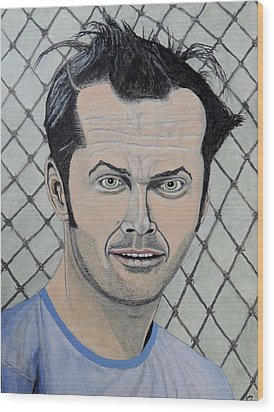 One Flew Over The Cuckoo's Nest. Wood Print