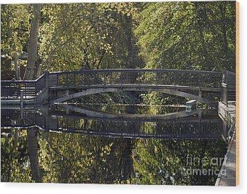 One Mile Bridge Wood Print
