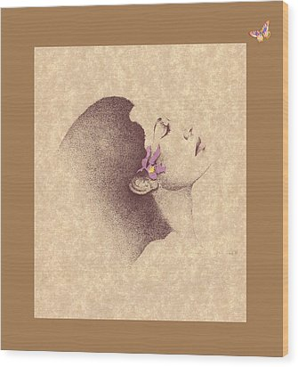 One Of A Kind Me  Wood Print by Albert Fennell