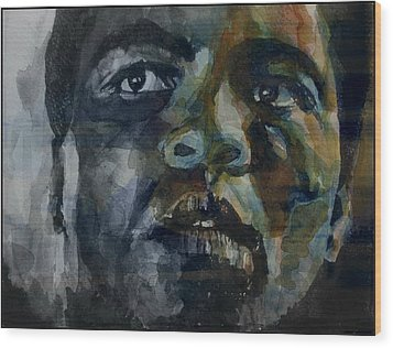 One Of A Kind  Wood Print by Paul Lovering