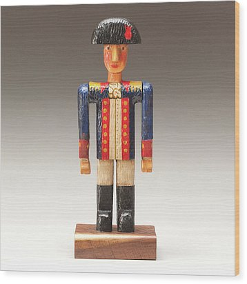 One Tin Soldier Wood Print by James Neill