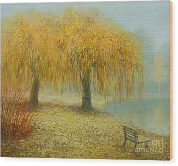Only The Two Of Us Wood Print by Kiril Stanchev