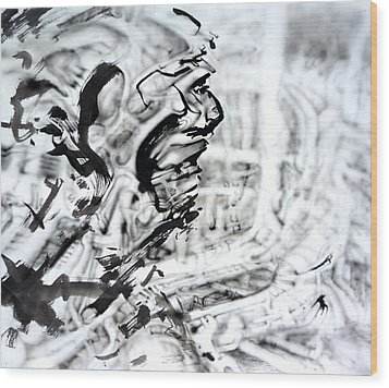 Open Wood Print by David Frantz