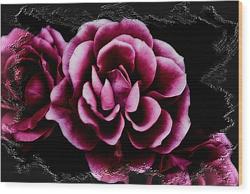 Ophelia's Roses Wood Print by Shelly Stallings