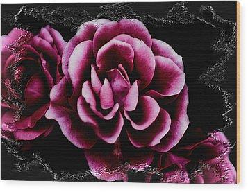 Ophelia's Roses Wood Print