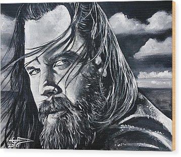 Opie Wood Print by Tom Carlton
