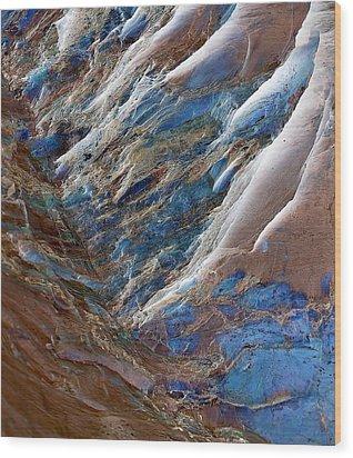 Gemstone Gorge Wood Print