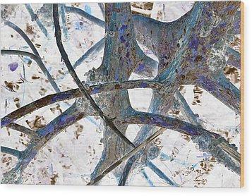 J-lintz - Natural Interchange Wood Print