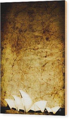 Opulence Wood Print by Andrew Paranavitana