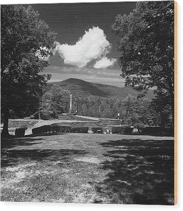 Opus 40 Wood Print