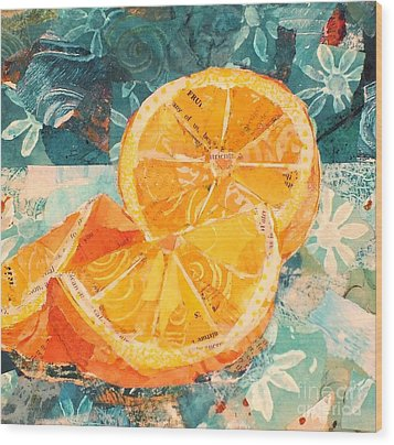 Orange You Glad? Wood Print
