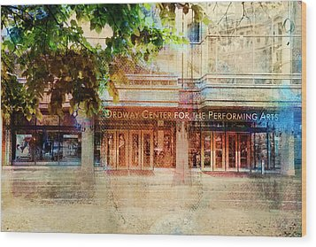 Wood Print featuring the photograph Ordway Center by Susan Stone
